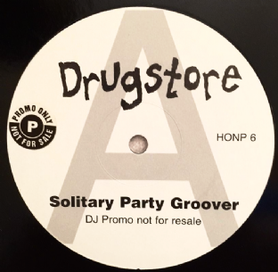 "Drugstore - Solitary Party Groover (12"") (Promo) (EX/EX)"